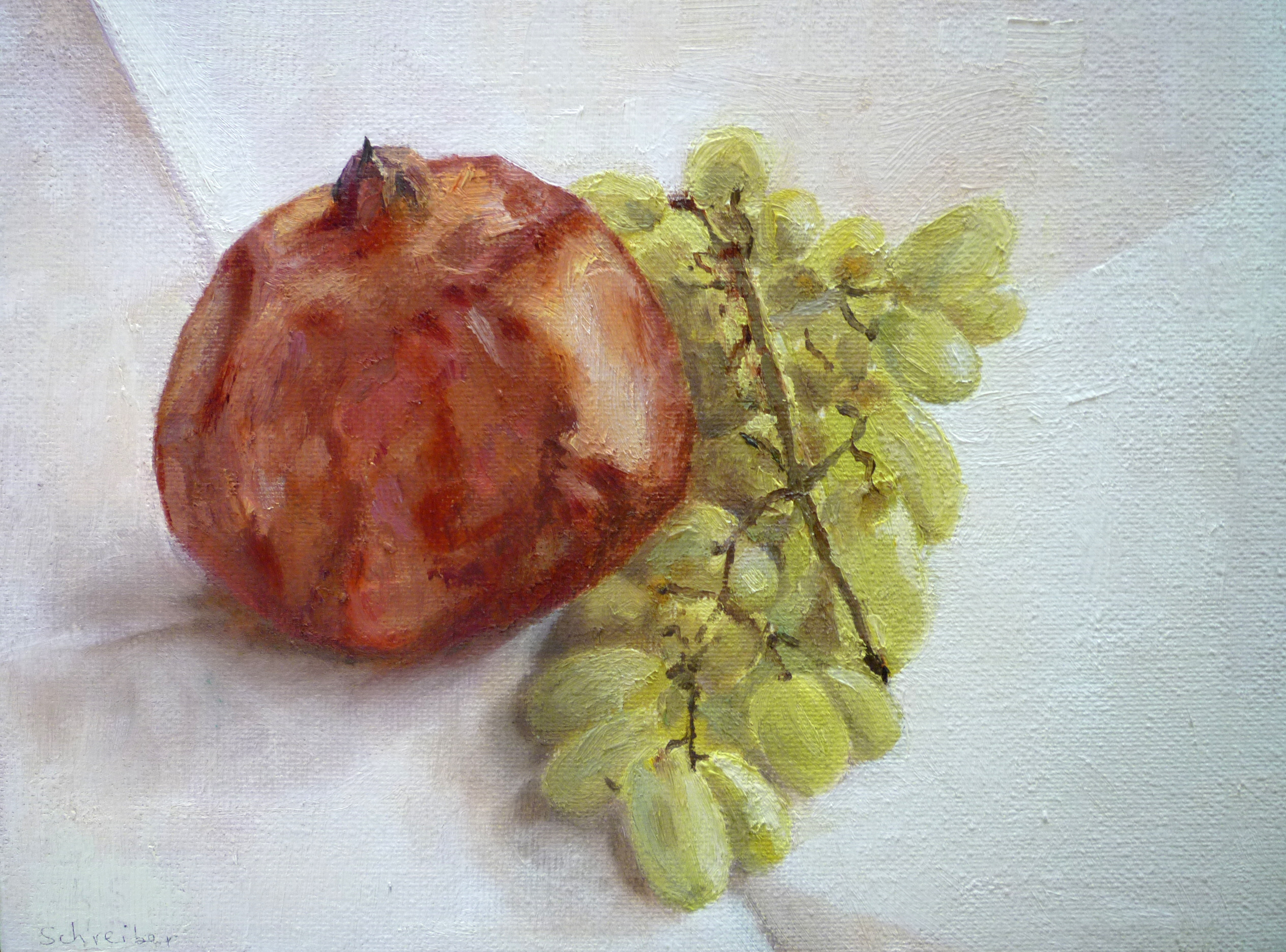 grapes-and-pomegranate-20x25cm