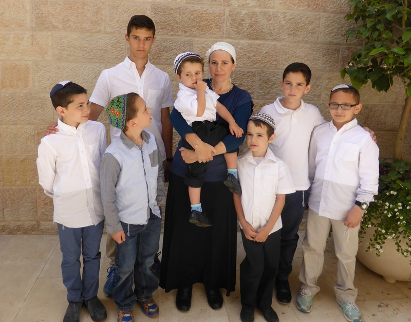 Channah and her 7 sons (II Maccabees, chapter 7) (low res 72dpi)