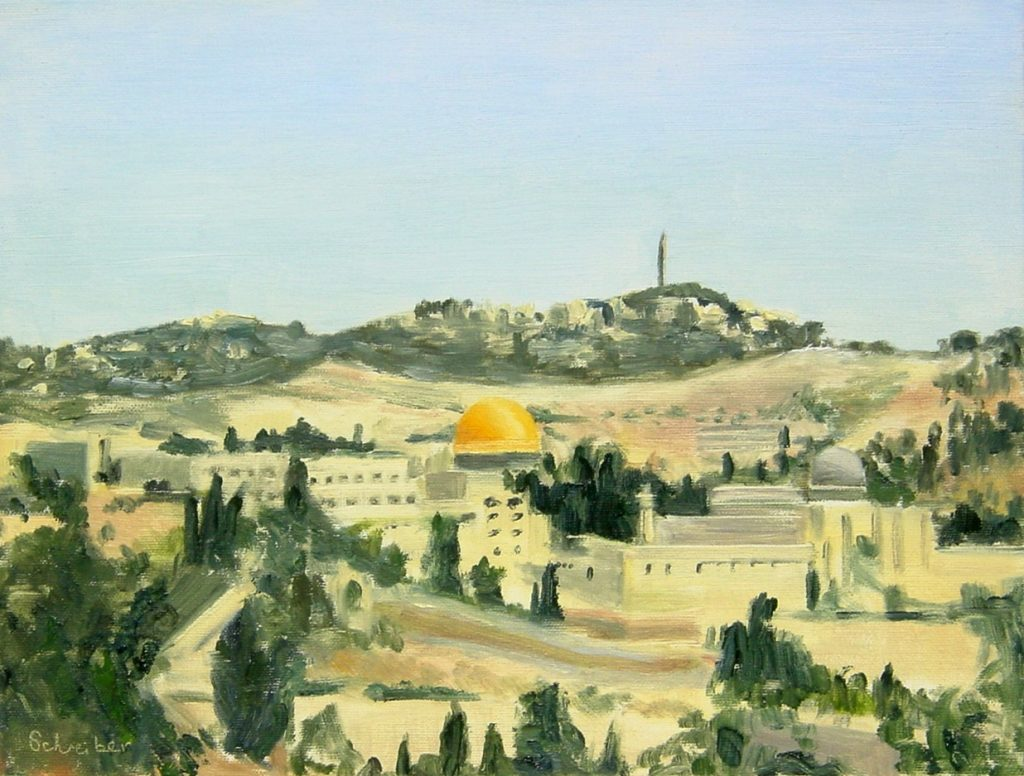 L146 View of Jerusalem from the South