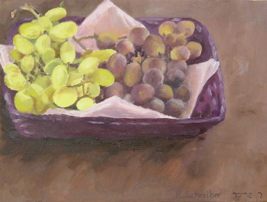 Grapes 23x32cm