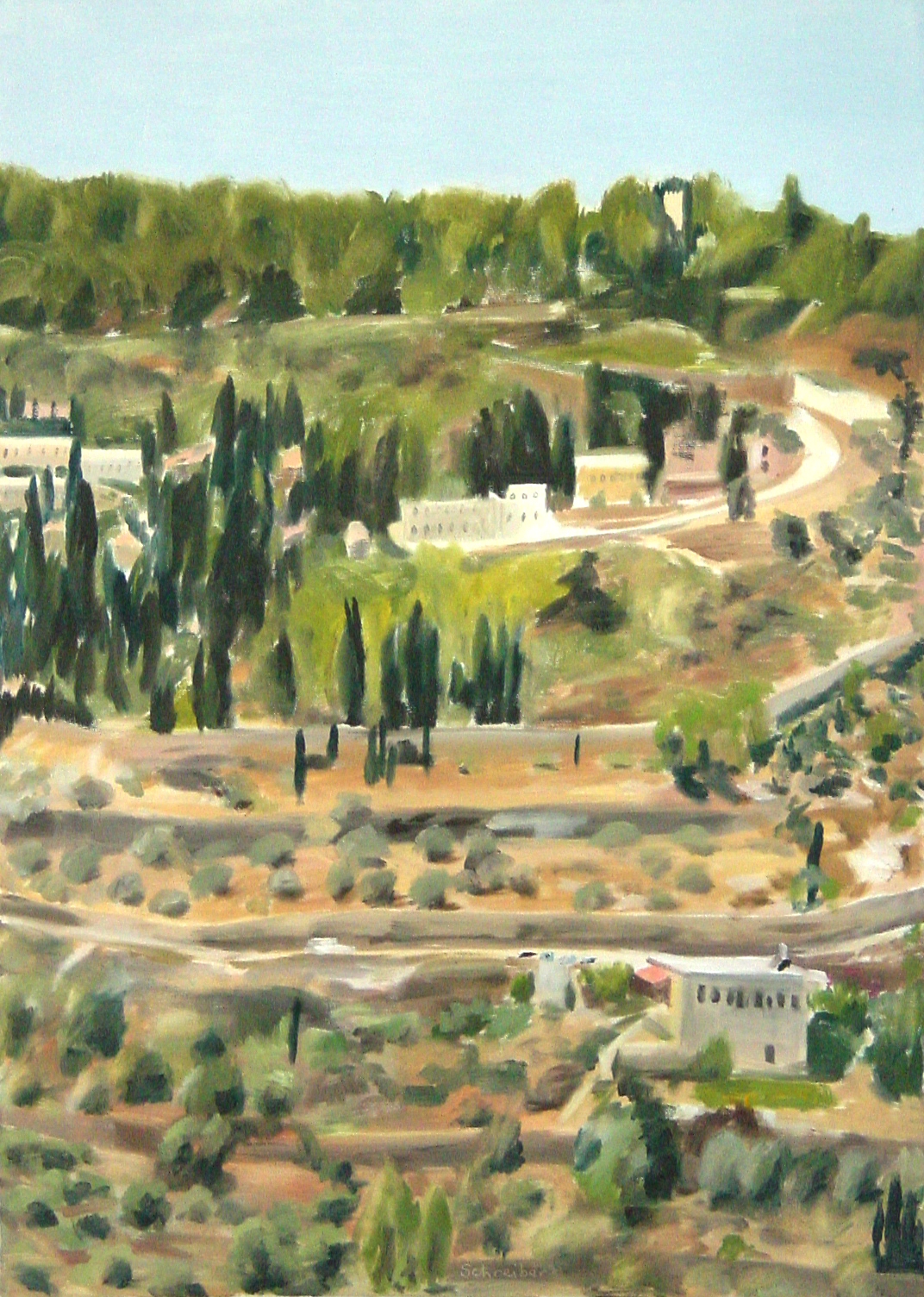 view-of-ein-karem-jerusalem-80x50cm