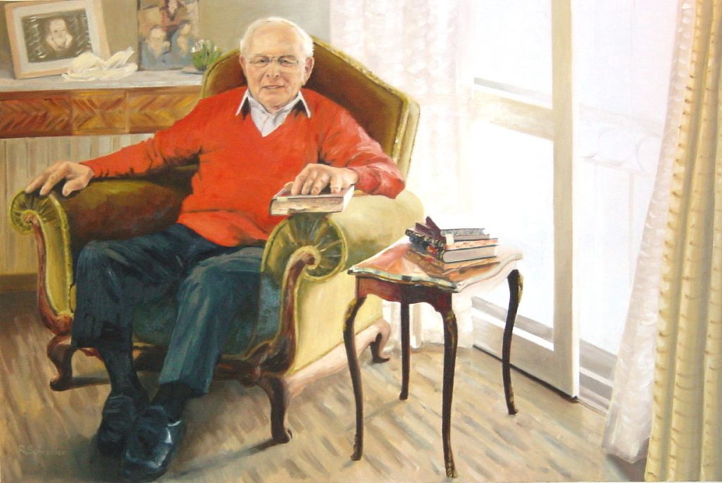 My Father at 80 80x120cm (D&D)